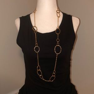 Chloe + Isabel gold link necklace
